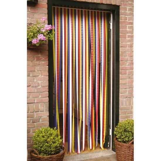 Bestel Vliegen deurgordijn gekleurd 210 cm bij de brutaalste partyshop online. Tegen insecten  en party artikelen voor een beestachtig feest. Koop nu Vliegen