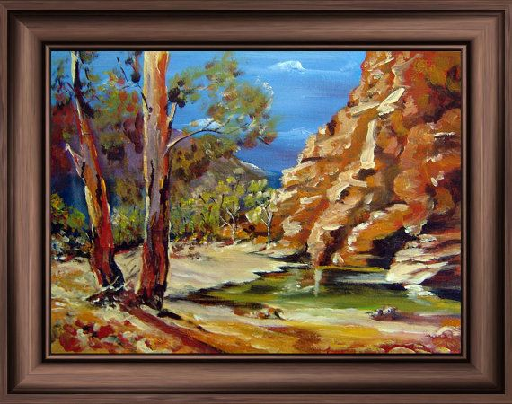 Art Print 'Chambers Gorge Flinders Ranges South by tervern on Etsy, $30.00