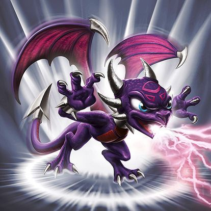 Cynder is a violet dragoness who is one of the Undead Skylanders in Skylanders: Spyro's...