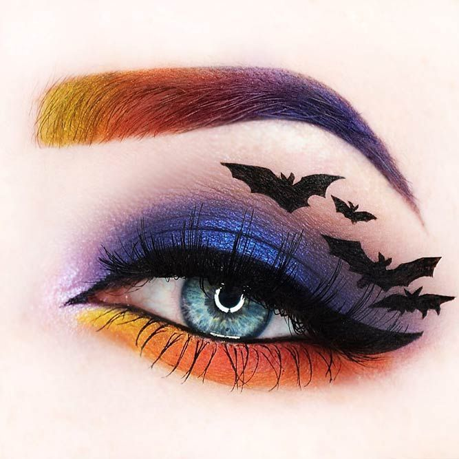 Beautiful Purple Halloween Eye Makeup Images - Halloween Ideas ...