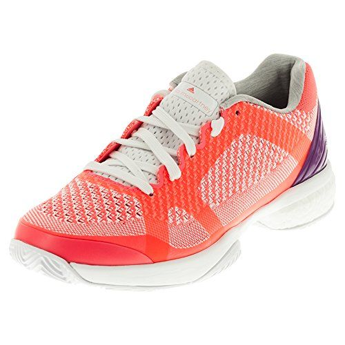 adidas Performance Womens Asmc Barricade Boost Women's Tennis and Racquet  Sports Shoes Shoe Flash Red WhitePop