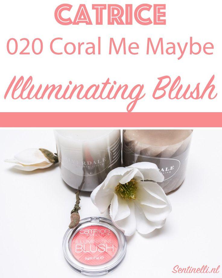Catrice 020 Coral Me Maybe Illuminating Blush. In dit artikel laat ik jullie deze prachtige blush zien.