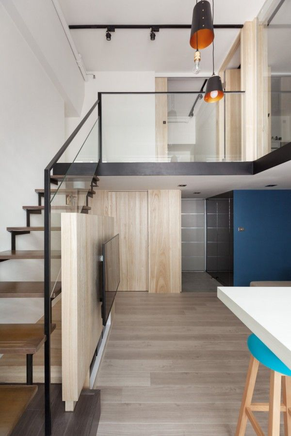 A Modern Loft with Character | Home Designing