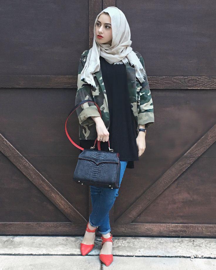 CAMO | ✨❤️ | #camo #camouflage #camouflagejacket #hijabfashion #modestfashion #2020ave #springstyle #summerstyle #ootd #summeralbarcha #hijab