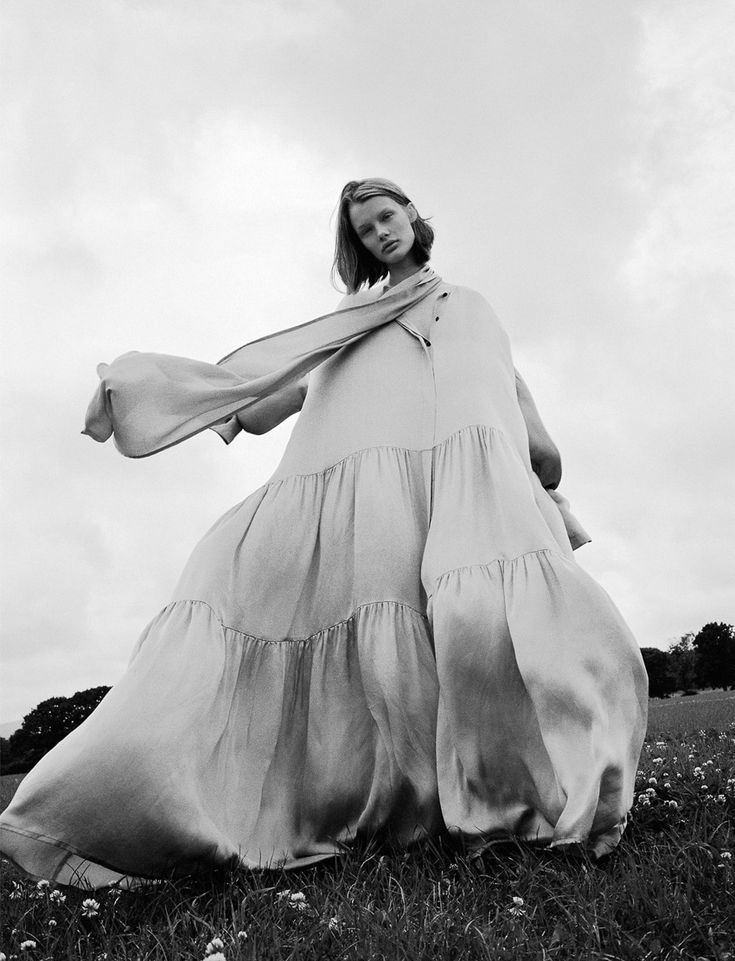 Photography:Ben Toms. Styled by: Robbie Spencer. Hair: Mari Ohashi. Makeup: Gemma Smith-Edhouse. Model: Kris Grikaite.