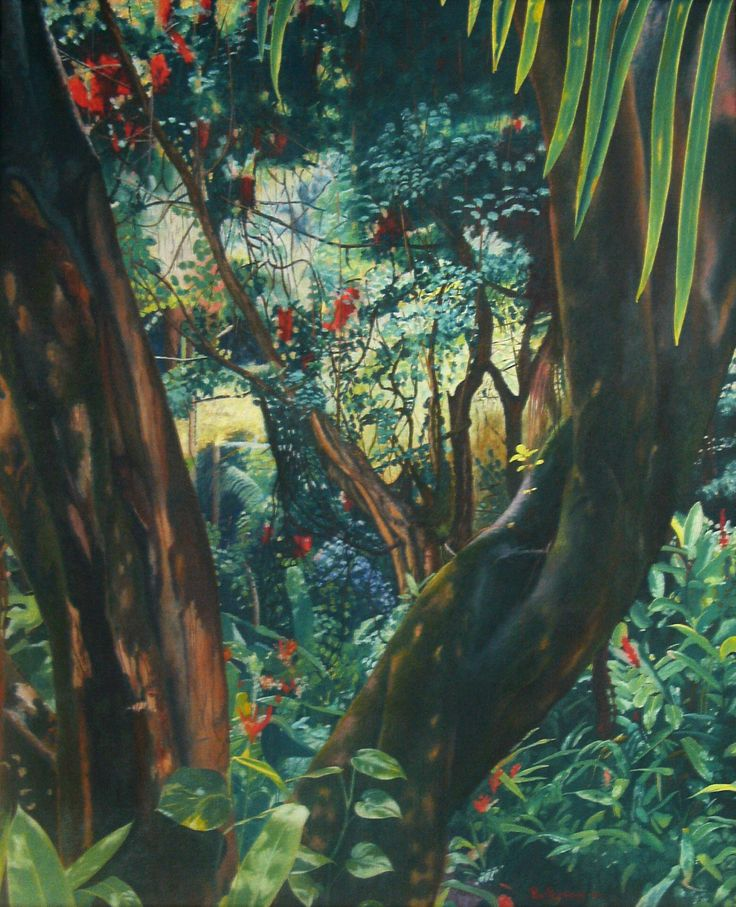 """Nature"" Oil on canvas of Per Pardorf"