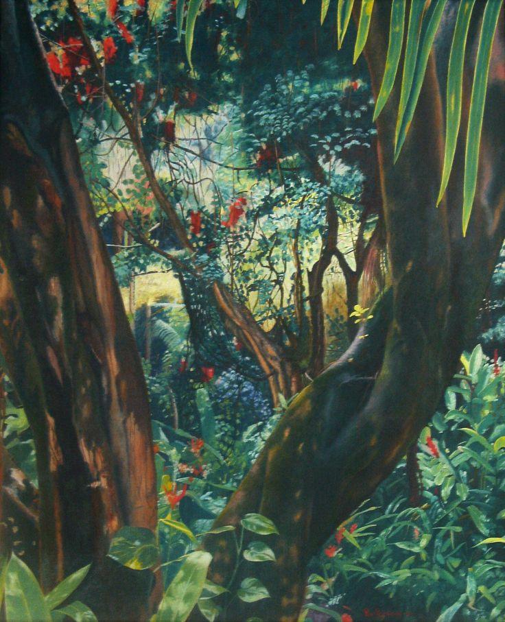 """Nature"" Oil on canvas of Per Pardorf"