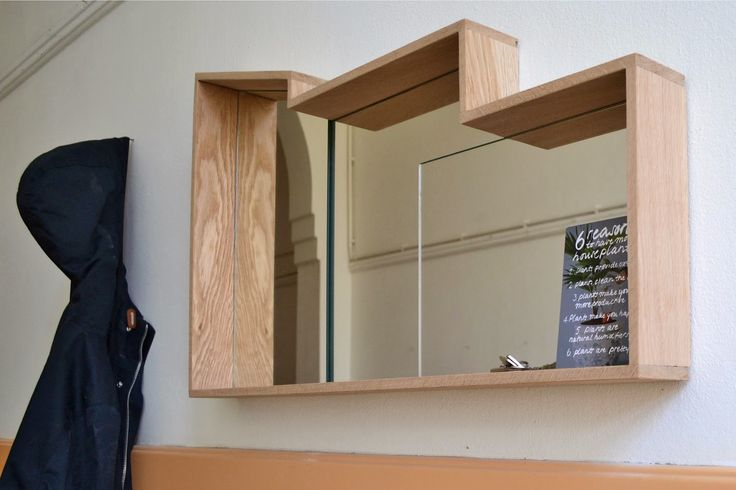 House of Thol | Scape Mirror - American White Oak, Layered Mirrors