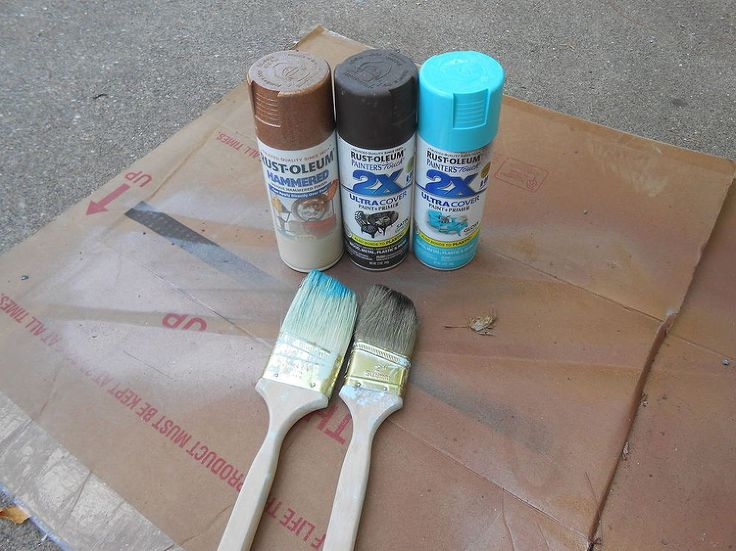 How to Spray Paint Easy Faux Copper Patina :: Hometalk