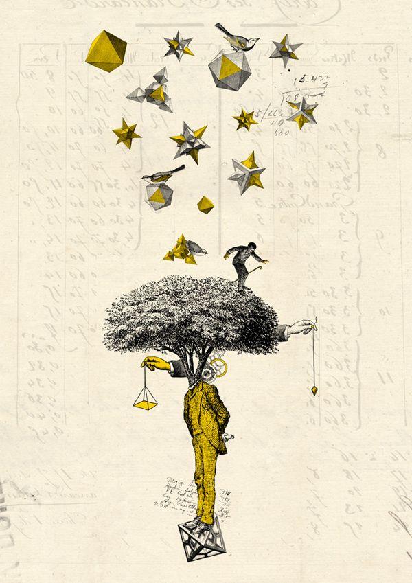 tree your mind by Kacper Kiec, via Behance