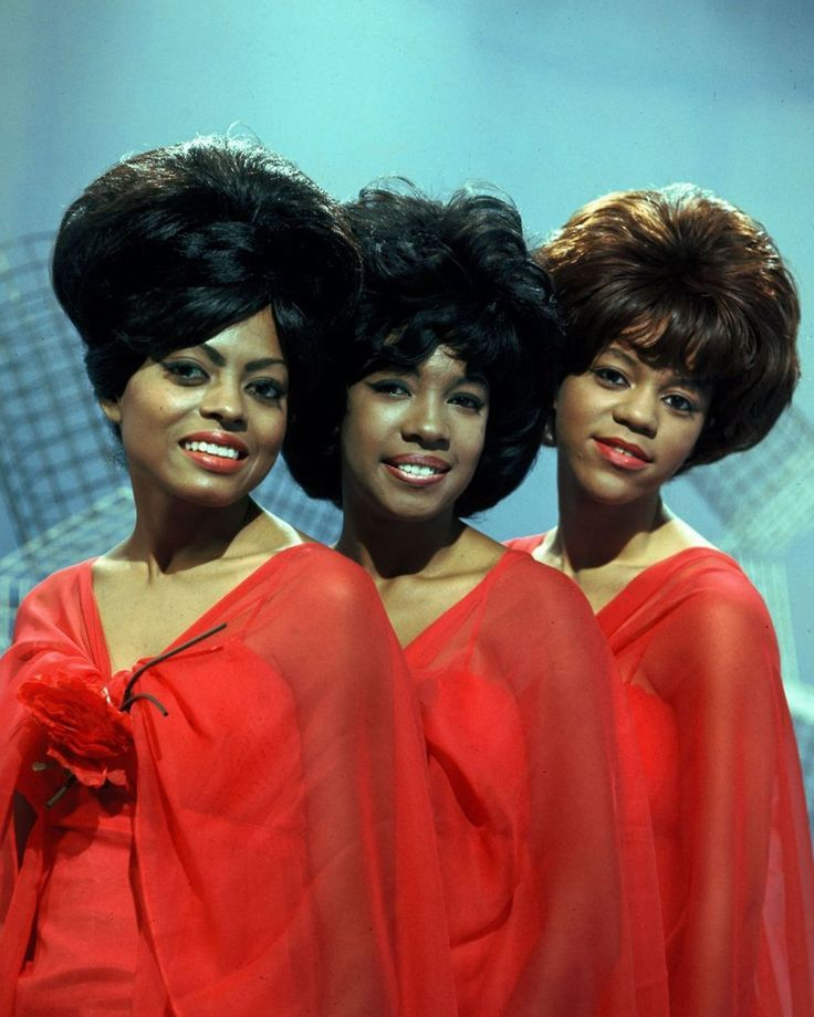The Supremes: Diana Ross, Mary Wilson & Florence Ballard 1960s
