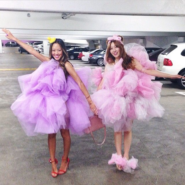 Shower Loofahs: Such unique DIY Halloween costumes to rock with your bestie this year.
