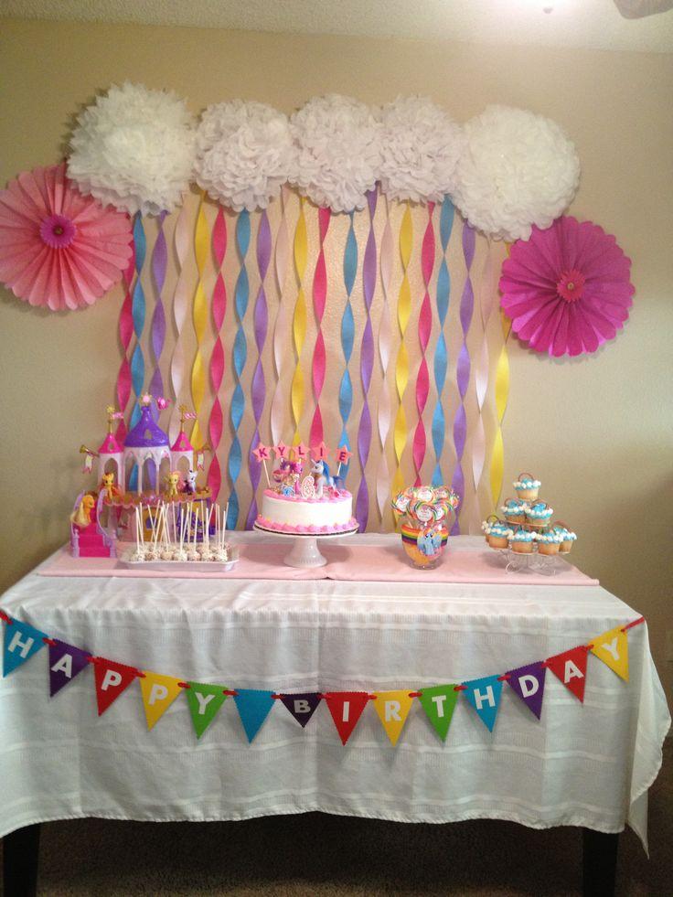 M s de 1000 ideas sobre little pony party en pinterest - Decoracion fiestas bebes ...