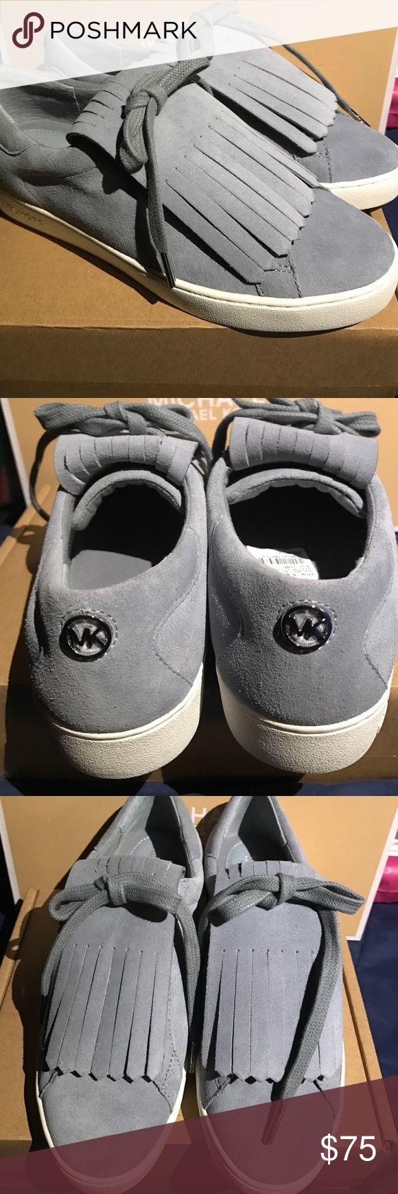 new michael kors sneakers new michael kors keaton kiltie sneaker suede. Black Bedroom Furniture Sets. Home Design Ideas