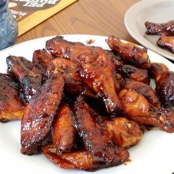 Photo recette : Ailes de poulet caramélisées