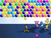 Free Online Puzzle Games, Launch each bubble and try to match it to form a chain of 3 bubbles!  You only have 5 shots before the ceiling starts to drop, so aim carefully!  See how many bubbles you can pop!, #bubble shooter #bubble