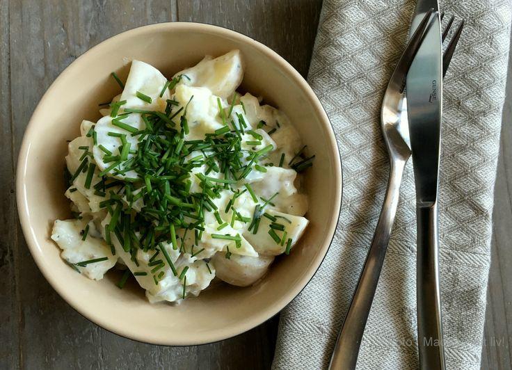 kartoffelsalat med blomkål