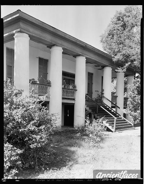 Judge W.H. Hurt house & office, Tuskegee vic., Macon