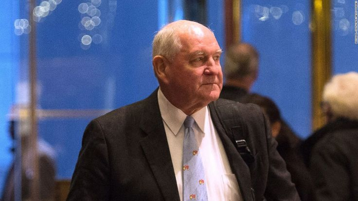 Donald Trump to tap Sonny Perdue for agriculture secretary - CNNPolitics.com