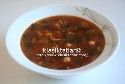 Nohutlu Ispanak Çorbası