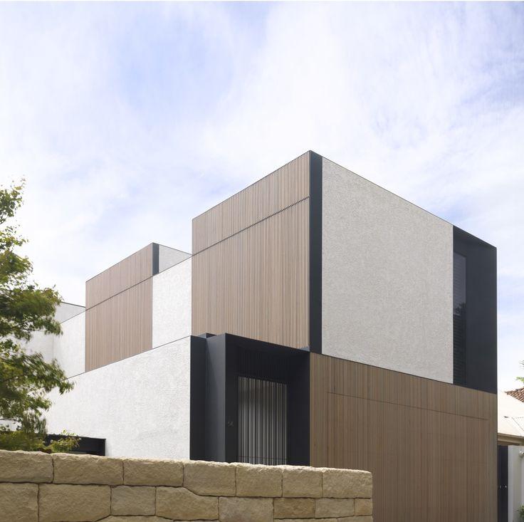 Tobias Partners - Cooper Park House box-like exterior.