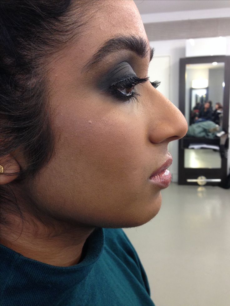 Smokey eyes on Jinali by Janey Umback