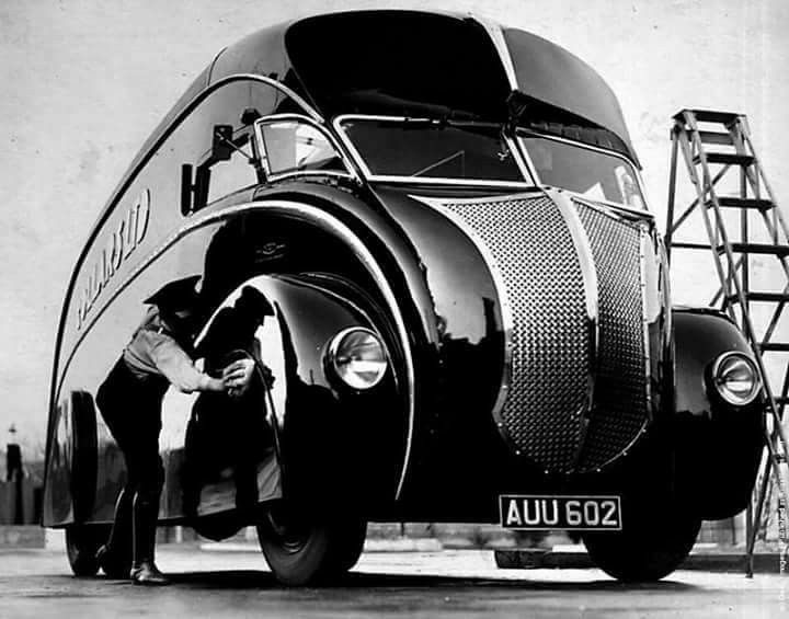 London Motorcycle Show >> Commer Holland Coachcraft Van. Collars Ltd. | Cars, Old ...