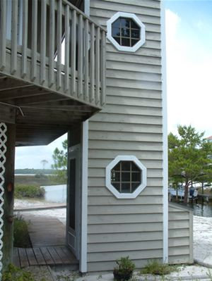 Outside Elevator With Siding Outdoor Decor And Gardening