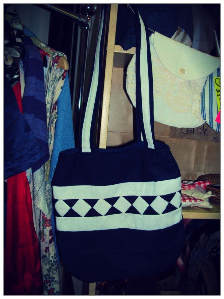 hand made bag (2200.-)