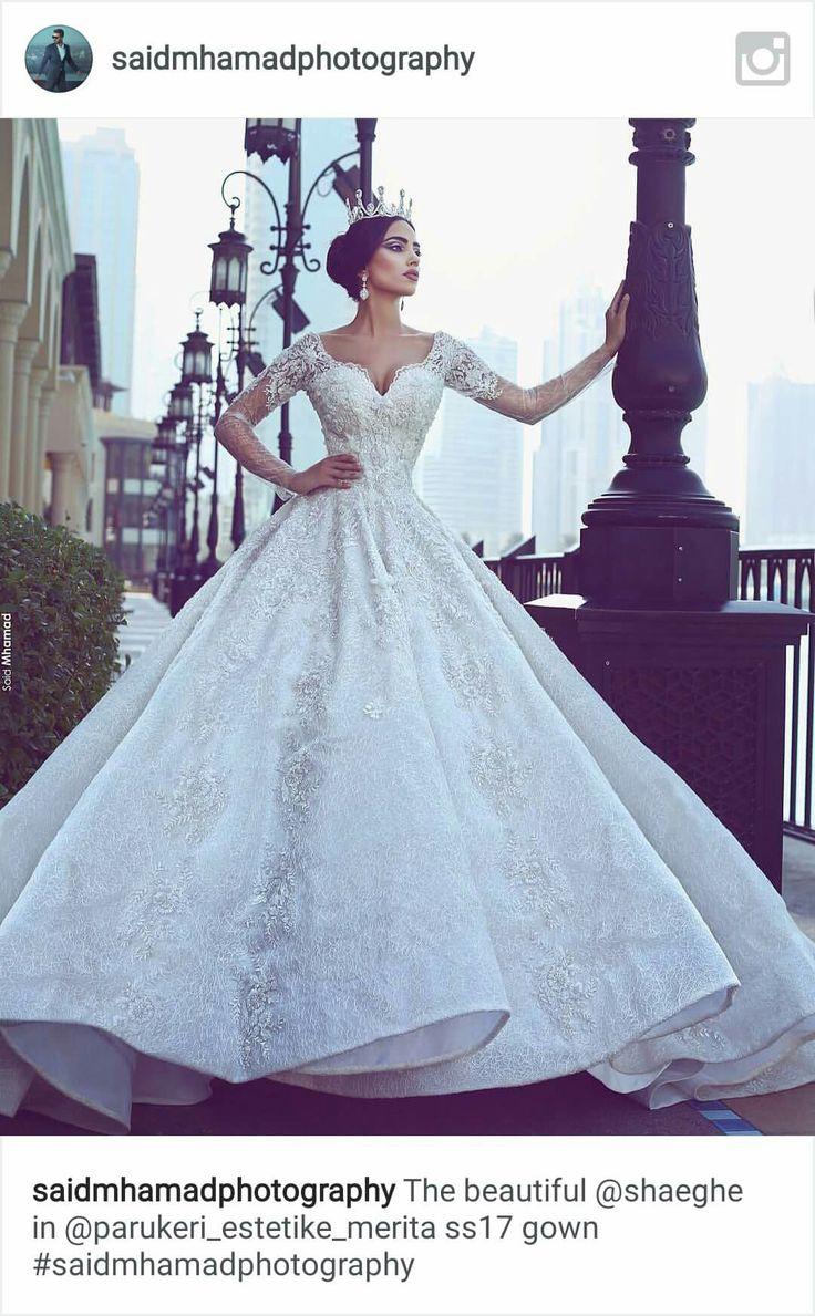 182 best wedding dresses images on Pinterest | Hochzeiten, Kleid ...