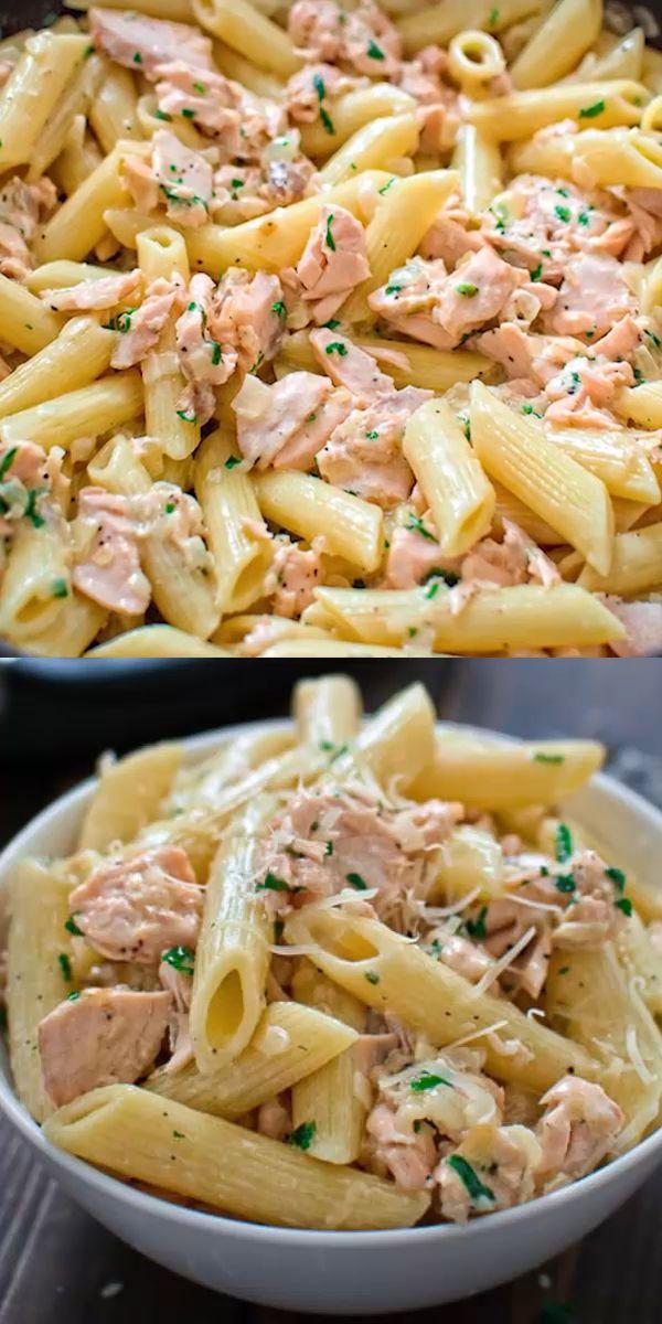 Easy Salmon Pasta