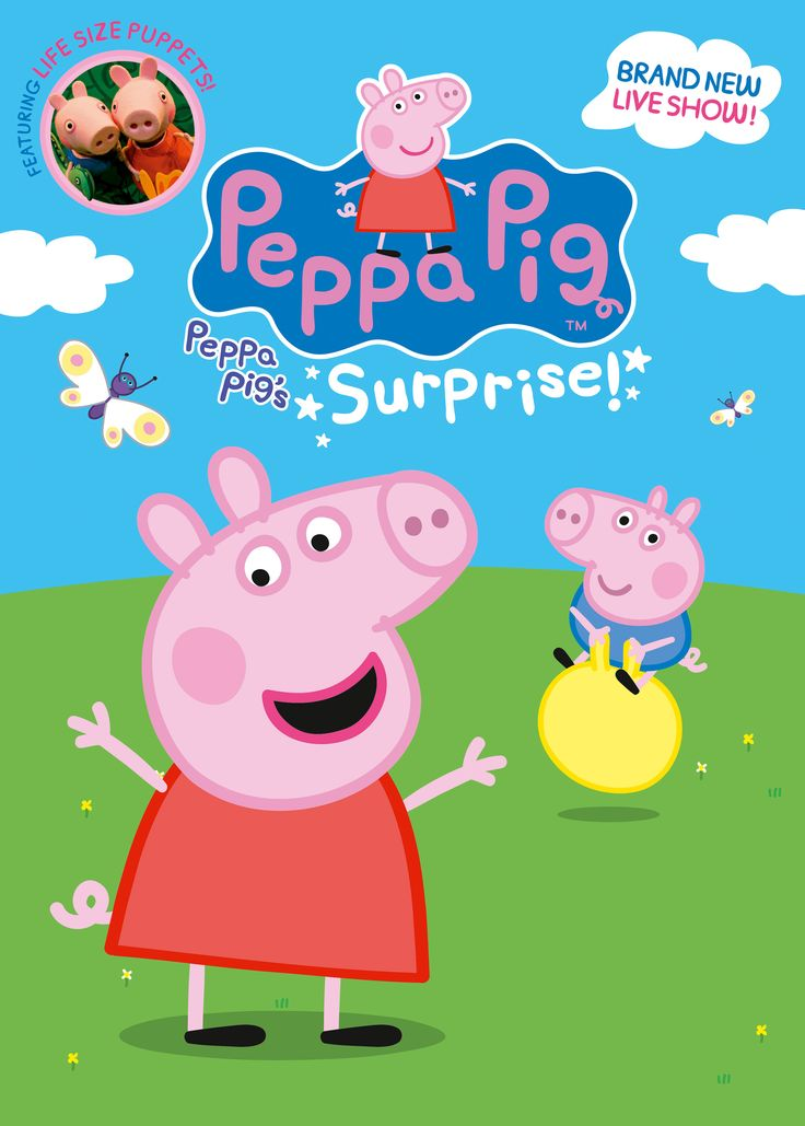 Peppa Pig's Surprise at The Princess Royal Theatre - EventsnWales, Surprise! Peppa Pig, George and their friends are coming to Port Talbot with a brand new