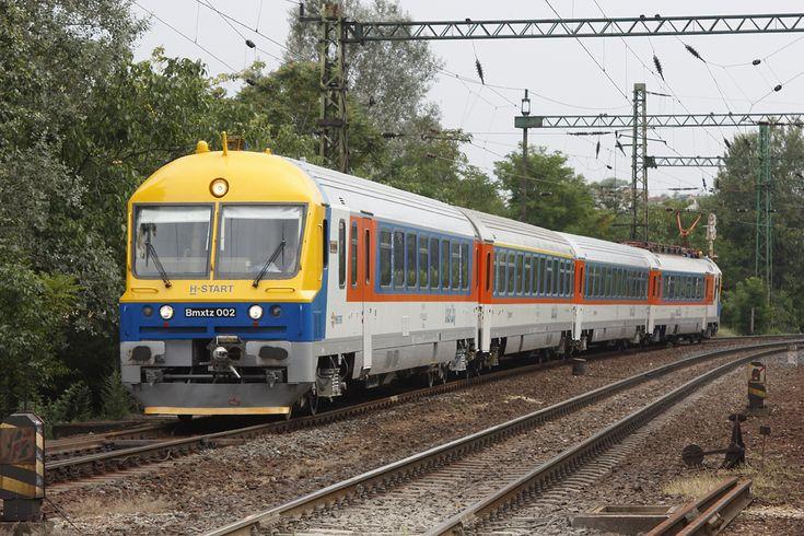 MÁV-START 434 Samu  (korábban: MÁV BVmot) InterCity közlekedésre szánt zárt villamos motorvonat. (fotó: Kurti Sebastián József)