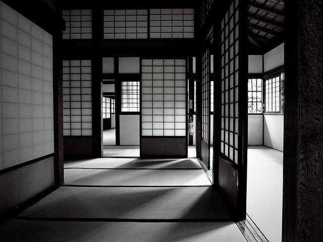 Japanese paper screens -shoji-