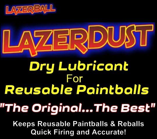 LazerDust - Reusable Paintball Lubricant .5 oz