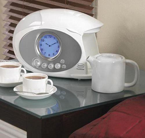 Swan Coffee Maker Alarm Clock : SWAN TEASMADE STM100 TEA COFFEE MAKER ALARM CLOCK Swan http://www.amazon.co.uk/dp/B0052DMVMK/ref ...