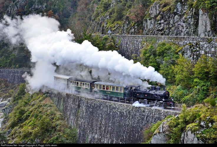RailPictures.Net Photo: 740 278 Chemin du fer du Vivarais Steam 0-6-6-0T at Tournon, France by JL Poggi 100% steam