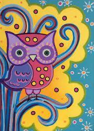 soyut baykuş tabloları - Google'da Ara