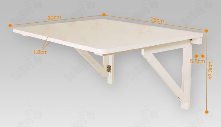 wall mounted collapsible table design - Google Search