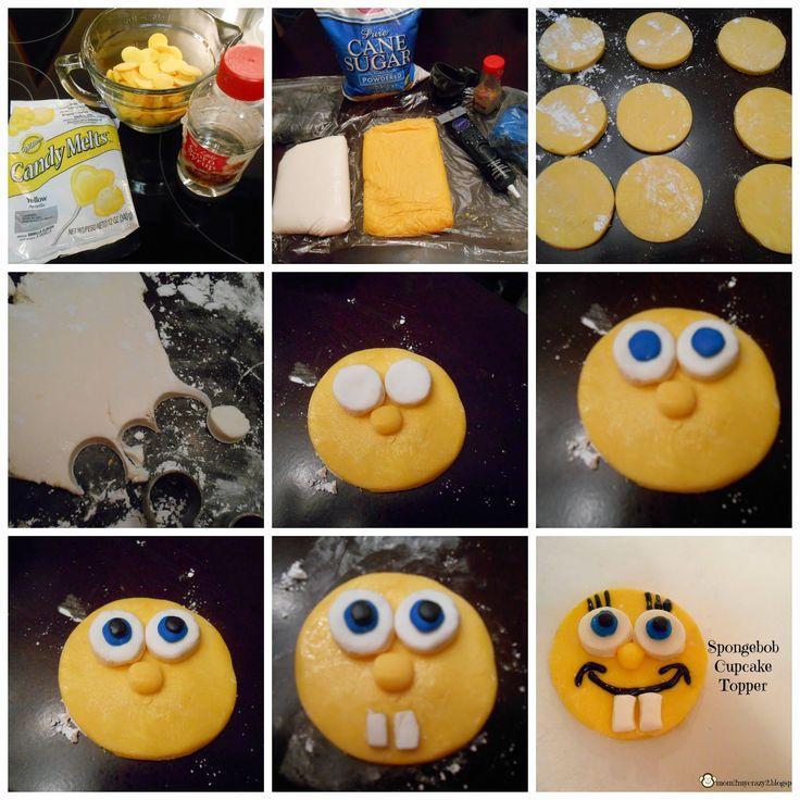 Running away? I'll help you pack.: Birthday Dreams ... Spongebob Cupcakes