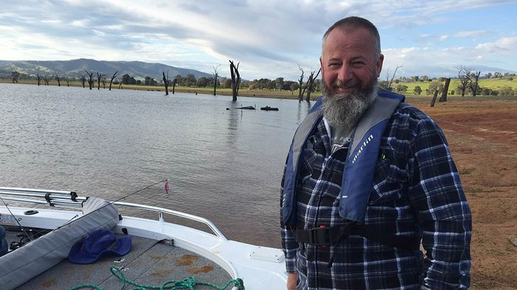 """Geoff Stevens has been fishing in Lake Mulwala and down the Murray for the last 40 years. He has seen the rise and fall of water quality - and the dramatic increase of an introduced bottom-feeding pest: carp. """"The biggest problem here at the moment for the fishermen is the amount of carp,"""" he said. Carp in large numbers negatively affect the health of the river by stirring up sediments during feeding, reducing water quality."""
