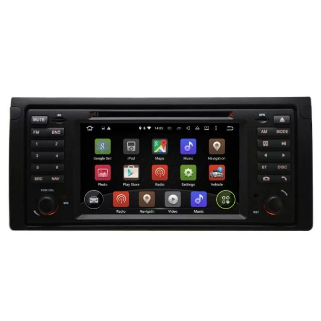 Wholesales Android 5.1 7 inch 1 Din Car DVD Player GPS Navigation System For Land Rover Range Rover 2002 2003 2004