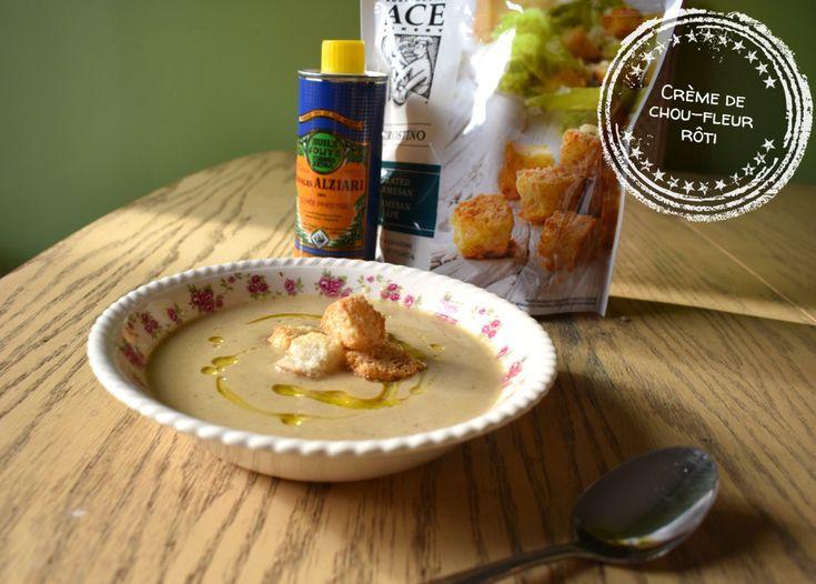 Crème de chou-fleur rôti (recette polyvalente) – Au bout de la langue