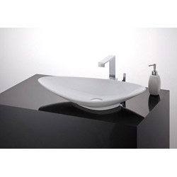 Cheviot Piu Due Overcounter Bath Sink 1260W25 White