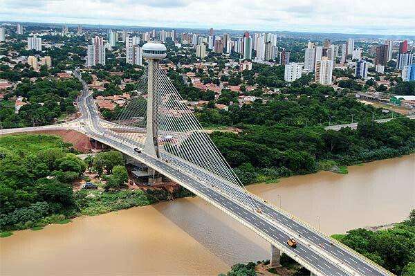 Ponte Estaiada um lindo ponto turistico do meu Piauí...