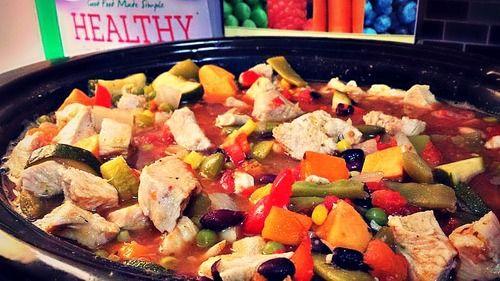 Crock Pot Sweet Potato & Chicken Soup! – Simply Taralynn