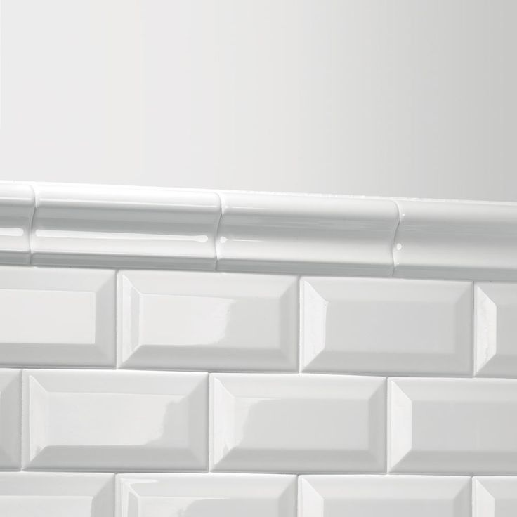 Daltile Finesse Bright White 2 In. X 6 In. Ceramic Chair