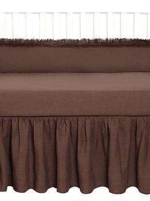 Pom Pom at Home Mathilde Crib Set, Chocolate