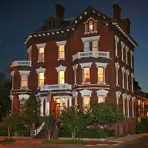 Kehoe House, Savannah, GA - Haunted Hotels on the coast - Coastal Living