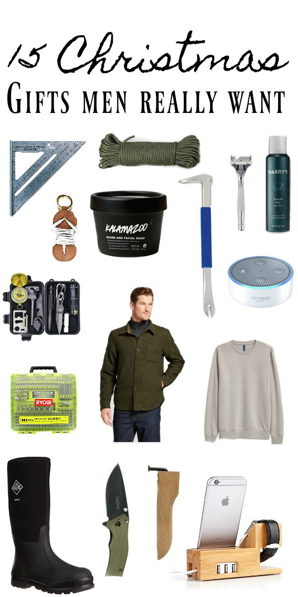 Awesome gift ideas for men / guys - Good list via White Cottage Farm ...